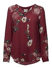 VILA - Vilucy L/S Shirt - Fav Lux