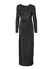 VILIBBO MAXI DRESS - BLACK