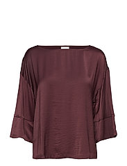 VICAVA 3/4 SQUARE SLEEVE TOP-FAV NX - WINETASTING