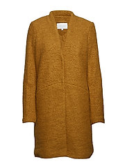 VITEA NEW WOOL BOUCLE JACKET - CATHAY SPICE