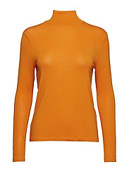 VIABILINA L/S T-SHIRT - RUSSET ORANGE