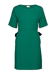 VILAMIDA 2/4 DRESS - PEPPER GREEN