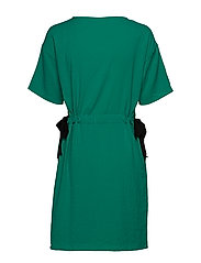 Vila - VILAMIDA 2/4 DRESS - short dresses - pepper green - 3