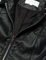 Vila - VIBLUE NEW COATED JACKET/SU- - skinnjakker - black - 2