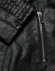 Vila - VIBLUE NEW COATED JACKET/SU- - skinnjakker - black - 3