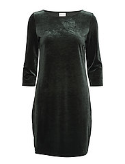 VISIENNA 3/4 SLEEVE DRESS/1 - PINE GROVE