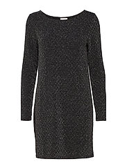 VITINNY LUOSQUARE NEW DRESS/1 - BLACK