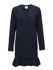 VILOANNA BLAZER DRESS - NAVY BLAZER