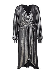 VILIMMA MIDI DRESS - SILVER