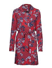 VIJOIANNA BLAZER DRESS - RACING RED