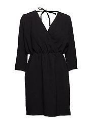 VIBLASSA L/S DRESS/1 - BLACK
