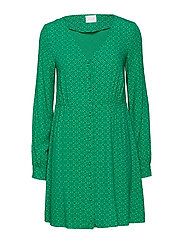 VIREDOT L/S DRESS - JELLY BEAN