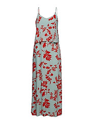 VIBIRDO CHAMA MAXI DRESS/DC - BLUE HAZE