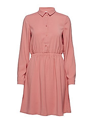 3514cd81a964 VILAIA SHIRT DRESS - EV - BRANDIED APRICOT