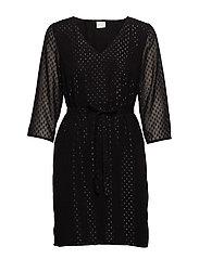 VIHENRI 3/4 DRESS C3 - BLACK