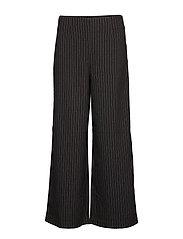 VIFRIGGA HW 7/8 WIDE PANTS - BLACK