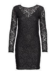 VIVISTIN L/S DRESS/KI - BLACK