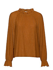VIWOWA L/S TOP - GOLDEN OAK