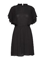 VINADJA S/S DRESS /RX - BLACK