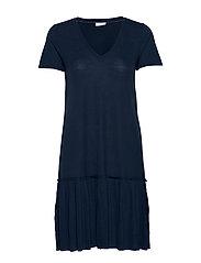 VIPLISS S/S DRESS - NAVY BLAZER