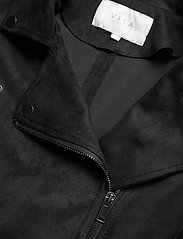 Vila - VIFADDY JACKET - NOOS - leather jackets - black - 2