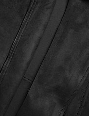 Vila - VIFADDY JACKET - NOOS - leather jackets - black - 4
