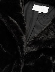 Vila - VIBODA NEW FAUX FUR COAT/PB/SU - faux fur - black - 2