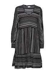 VIEXO L/S DRESS /RX - BLACK