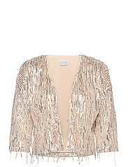 VIROMANTI SEQUIN COVERUP - FROSTED ALMOND
