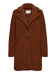 VILIOSI TEDDY COAT/SU - FAV - TORTOISE SHELL