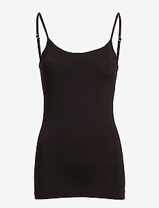 VISURFACE STRAP TOP NEW - NOOS - BLACK