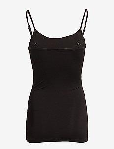 VISURFACE STRAP TOP NEW - NOOS - sleeveless tops - black