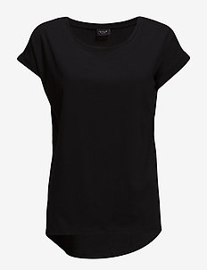 VIDREAMERS PURE T-SHIRT-NOOS - basic t-shirts - black