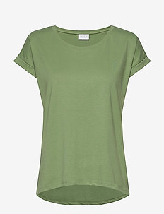 VIDREAMERS PURE T-SHIRT-NOOS - basic t-shirts - loden frost