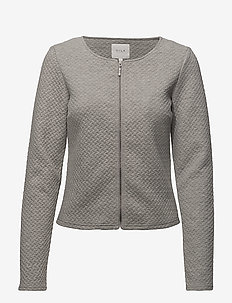 VINAJA NEW SHORT JACKET- NOOS - blazere - light grey melange