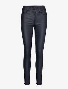 VICOMMIT COATED RWSK NEW PANT-NOOS - bukser med smalle ben - total eclipse