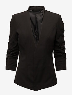 VIHER NEW 3/4  BLAZER/SU- - casual blazers - black