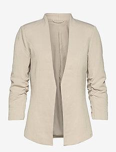 VIHER NEW 3/4  BLAZER/SU- - casual blazers - dove
