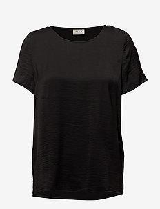 VICAVA S/S TOP-NOOS - t-shirts basiques - black