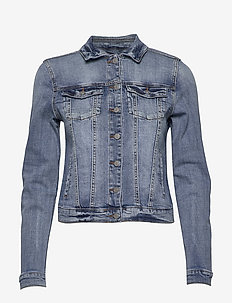 VISHOW DENIM JACKET - NOOS - spijkerjassen - medium blue denim