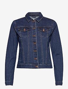 VISHOW DENIM JACKET - NOOS - kurtki dżinsowe - medium blue denim