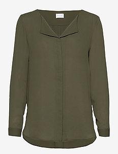 VILUCY L/S SHIRT - - blouses met lange mouwen - forest night