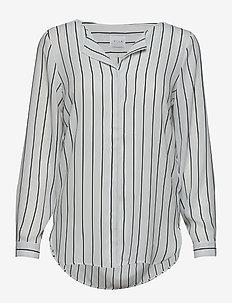 VILUCY L/S SHIRT - NOOS - bluzki z długimi rękawami - snow white