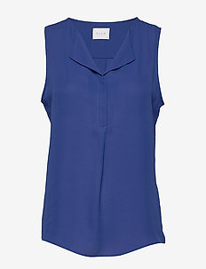 VILUCY S/L TOP - FAV - topy bez rękawów - mazarine blue