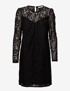 VITELL DRESS - korte kjoler - black