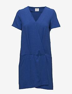 VIDIVA S/S SHORT DRESS C1 - wrap dresses - surf the web