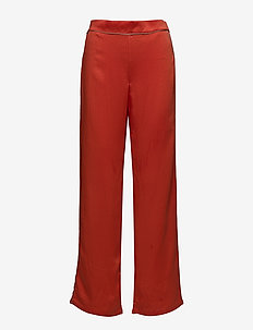VIJUANA PANTS - wide leg trousers - orange.com