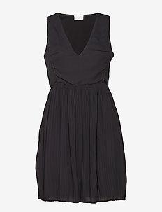 VILILLA S/L DRESS - midi jurken - black