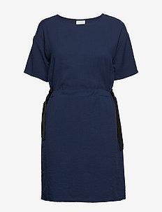 VILAMIDA 2/4 DRESS - short dresses - navy blazer