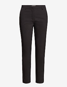 VIADELIA RWSL 7/8 NEW PANT-NOOS - straight leg trousers - black